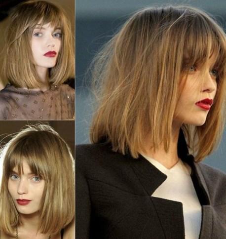 30 Short Hairstyles for Women: Long Bob for Fine Hair