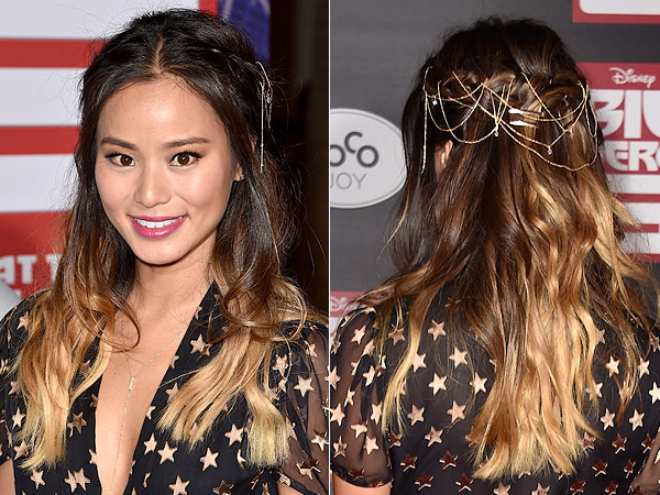 Jamie Chung Long Ombre Hair