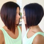 Side View of A-line Bob Hairstyle