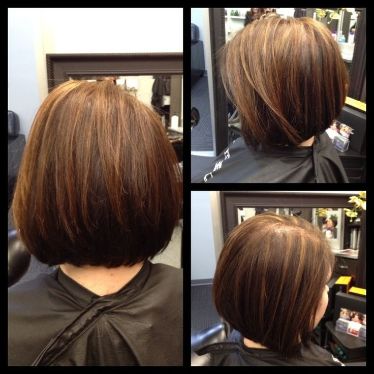 Classic short bob hairstyle for any ages