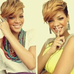 Rihanna's Hairstyle for Summer