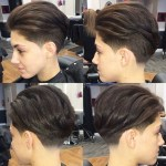 Short Comb Over Hairstyle for Women