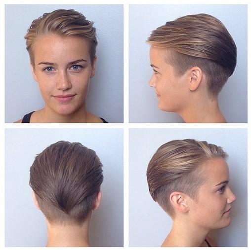 Undercut Short Haircut for Women
