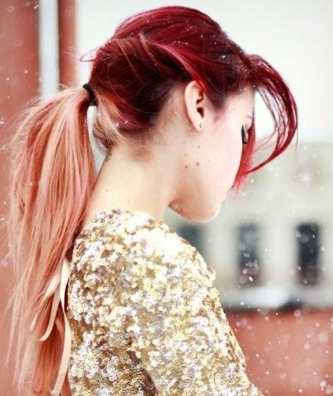 Long-Hair-Trend-Cute-Ombre-Hair-for-Ponytail