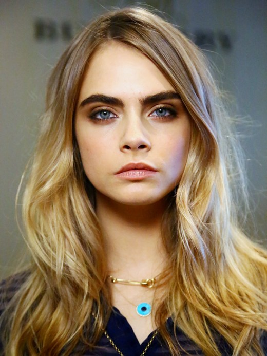 Cara Delevingne Long Hairstyles