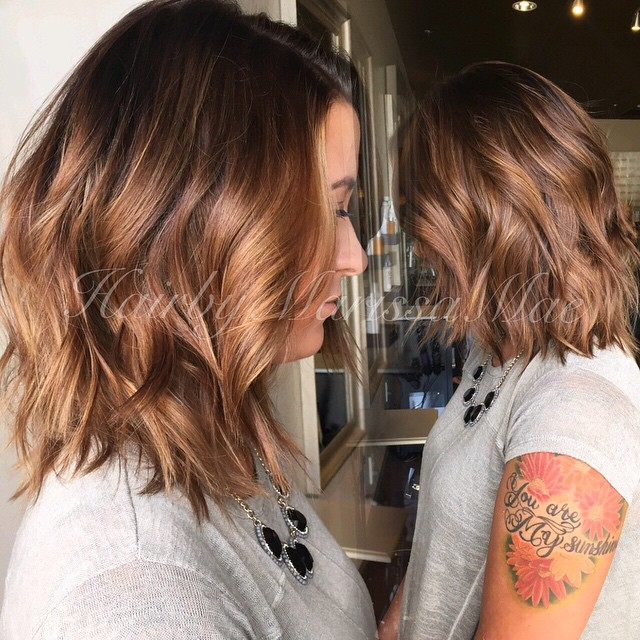 Ombre bob hair for thick hair