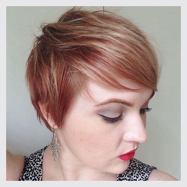 Short Pixie Cut for fine thin hair