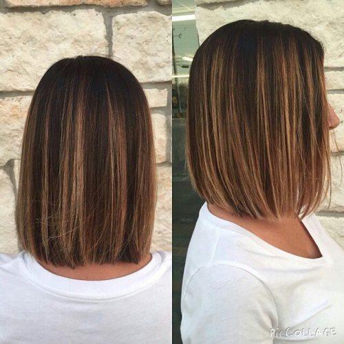 easy daily bob hairstyle for medium length hair