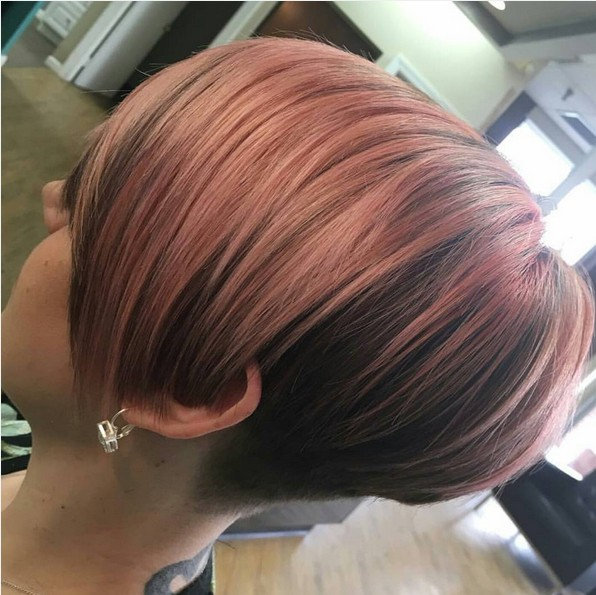 Chic, Straight Short Hairstyle for Women