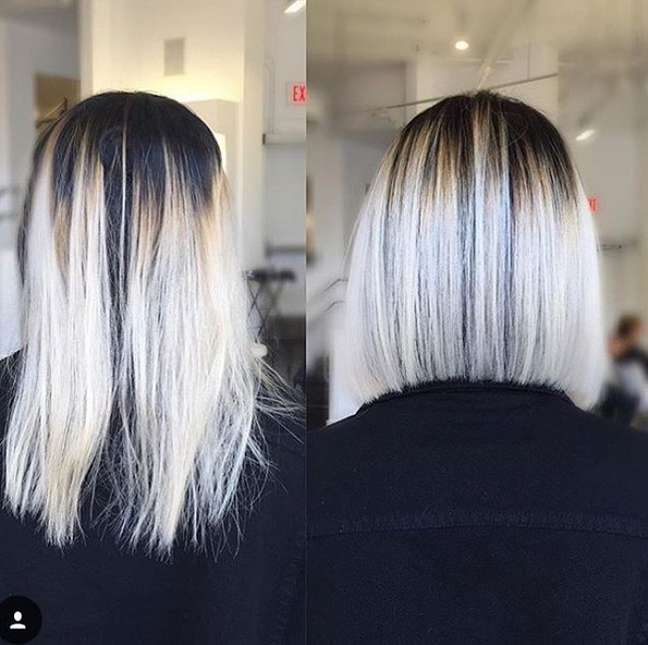 25 Amazing Two Tone Hair Styles Amp Trendy Hair Color Ideas