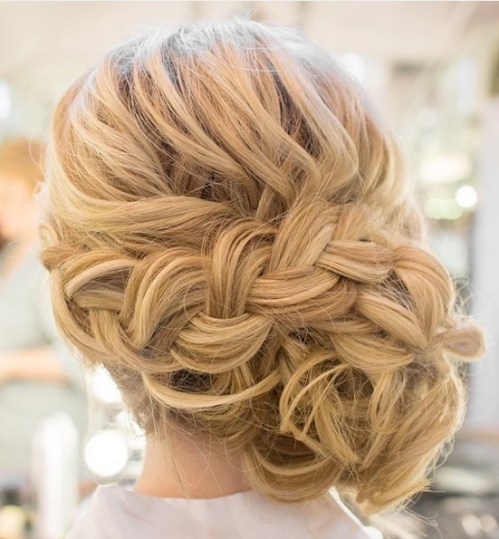 Trendiest Updo Hairstyles for Medium Length Hair