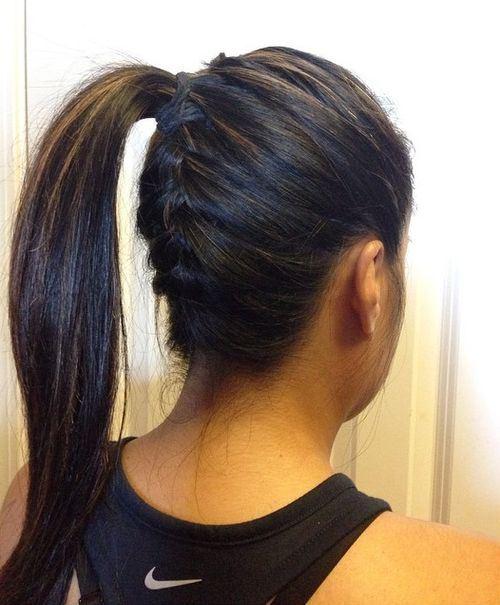 Braided Ponytail for Black Hair