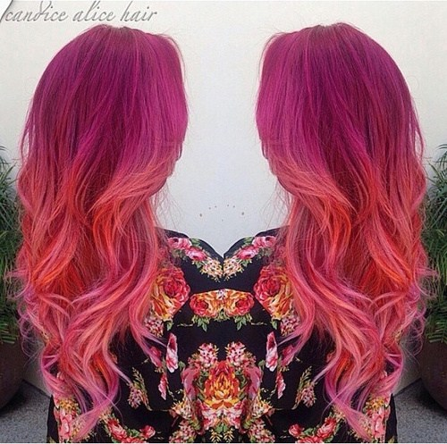 20 Pretty Ways to Style Pink Ombre Hair Looks
