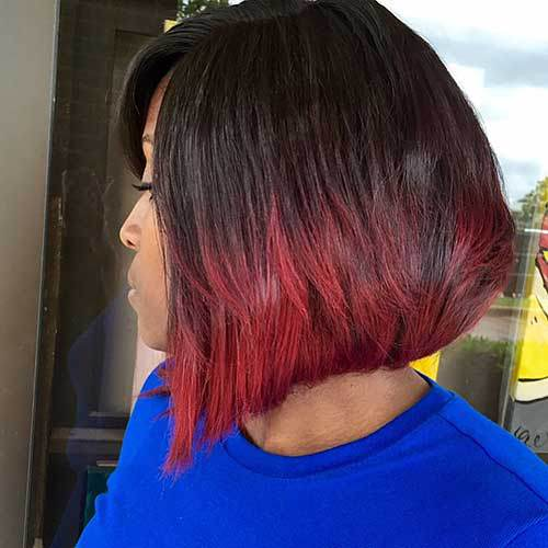Brown and Red Bob