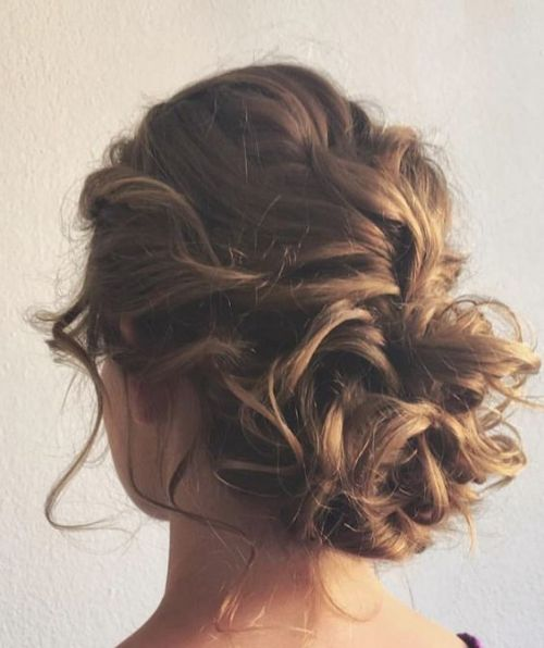 Simple easy daily updo for medium length hair