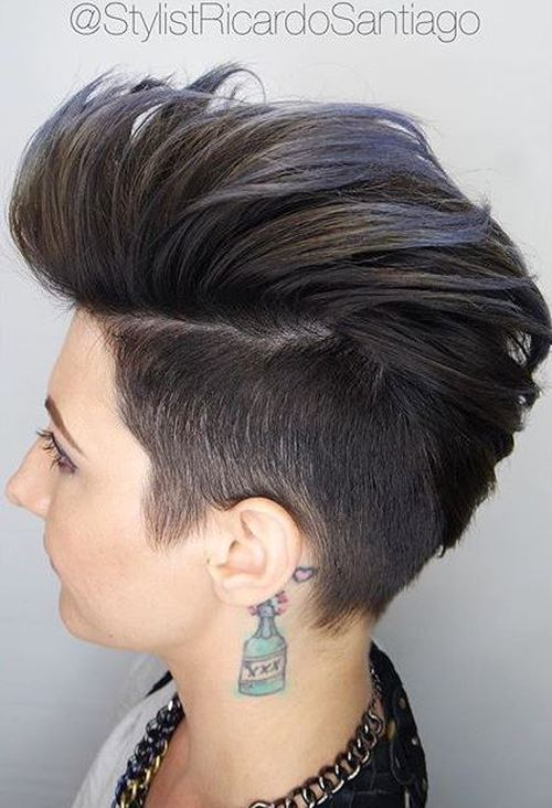 20 Faux Hawk Inspired Hairstyles You Must Try