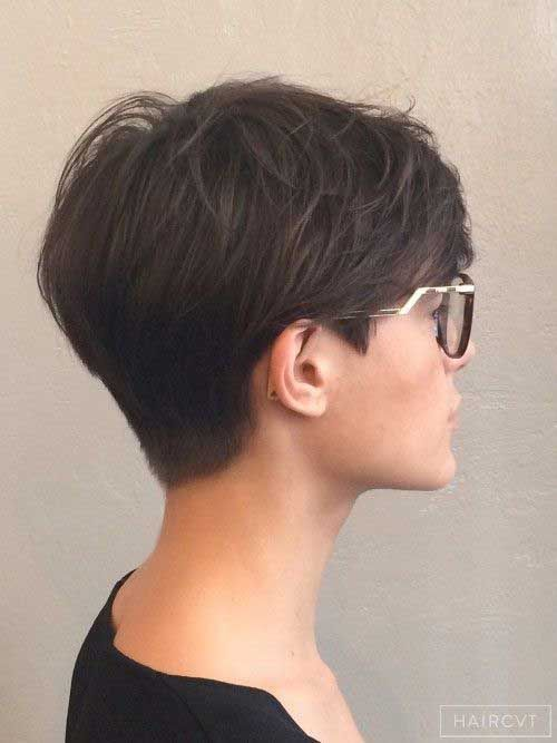 Image Result For Black Short Hairstyles Back View