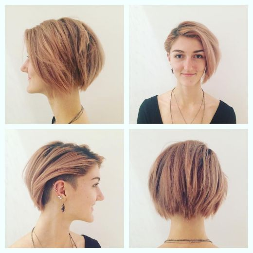 40 Hottest Short Hairstyles Short Haircuts 2020 Bobs Pixie Cool Colors Hairstyles Weekly