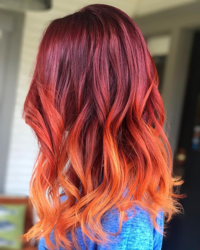 50 ombre hairstyles for women - ombre hair color ideas 2019