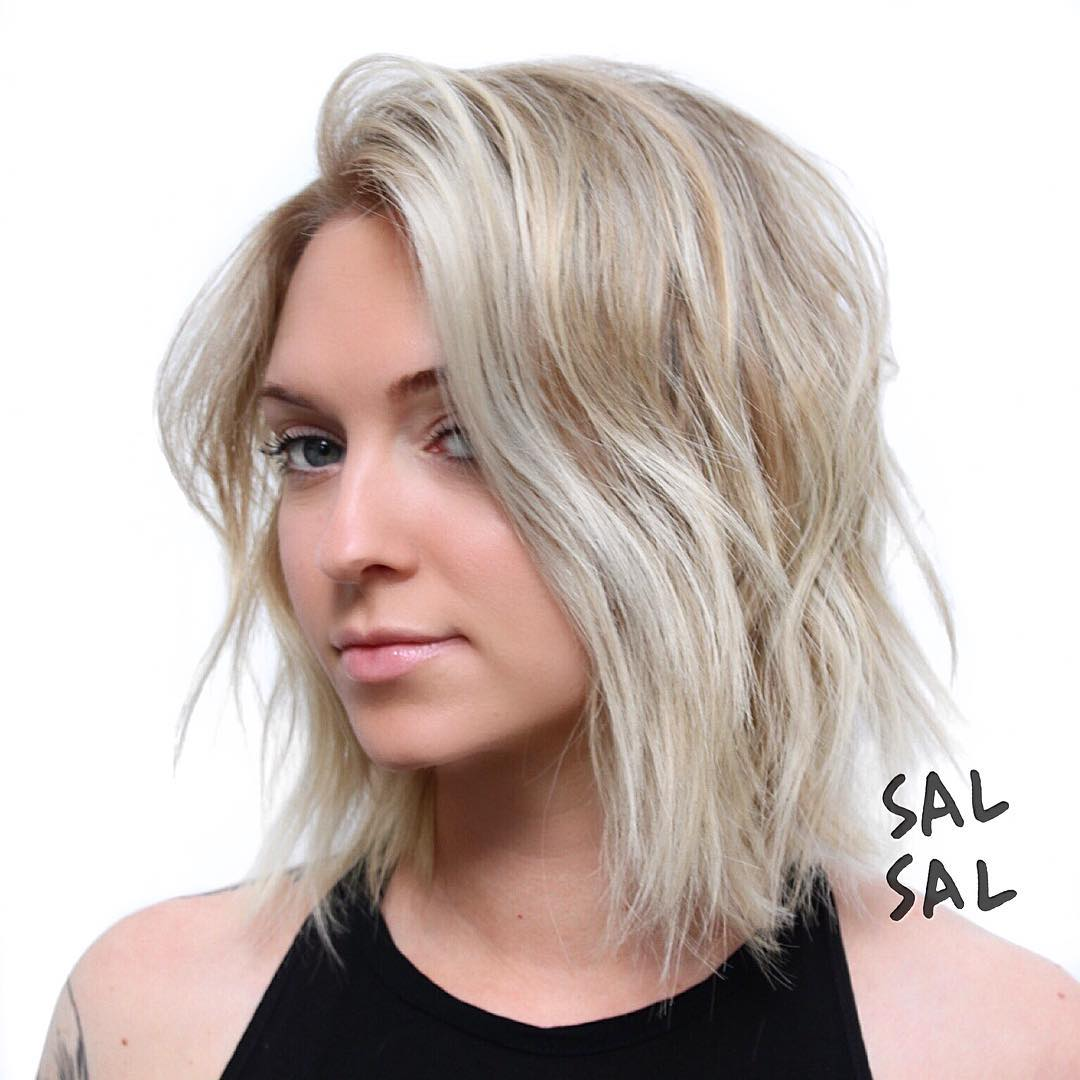 40 Most Flattering Bob Hairstyles For Round Faces 2019