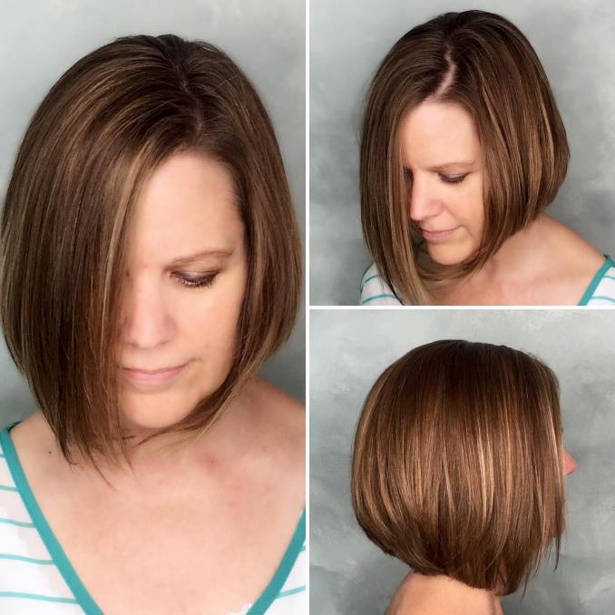 40 most flattering bob hairstyles for round faces 2019 - hairstyles