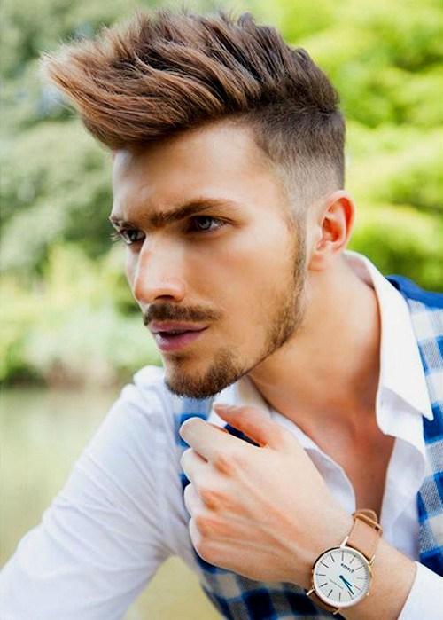 22 Trendy Faux Hawk Hairstyles for Men