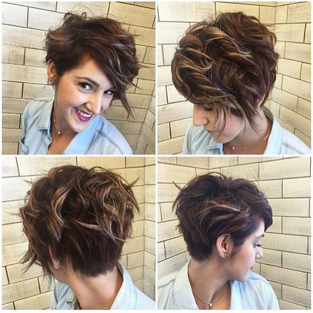 40 Hottest Short Wavy, Curly Pixie Haircuts 2019 - Pixie Cuts for Short Hair
