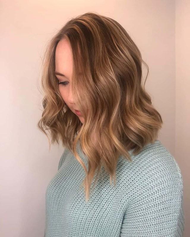 9 Lovely Lob Haircuts with Balayage
