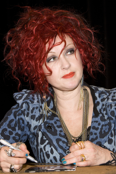 Cyndi Lauper Red Hair