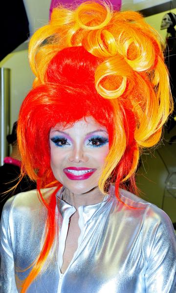 La Toya Jackson Halloween Hair