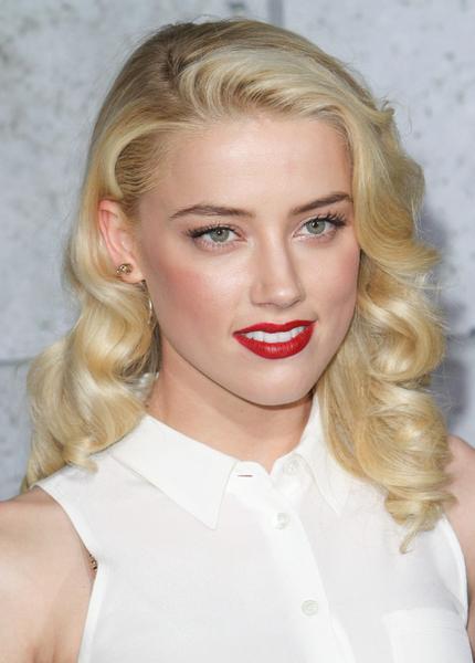 Amber Heard Vintage Curls