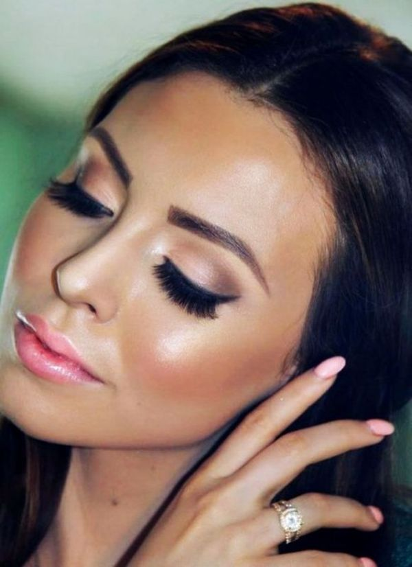 15 Sexy Cat Eye Makeup Ideas For Brides Hairstyle Woman