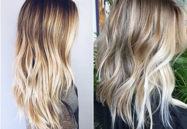 Balayage Blonde Hair Colors 2017 Summer Hairstyle Woman