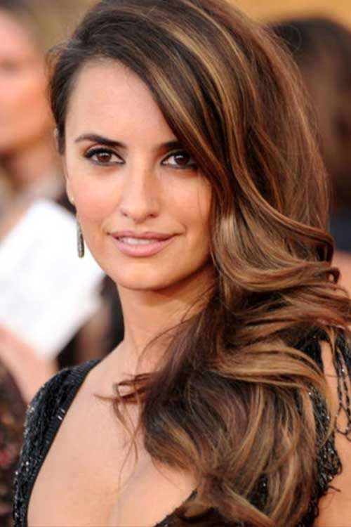 25 Highlight Brown Hair Hairstyle Woman