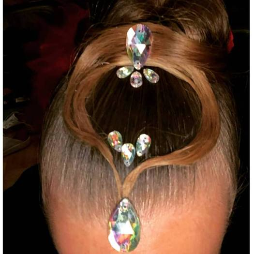 lisa 1 - Hairstyling danswedstrijd