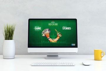 Portfolio - Productie - Heineken: Rugby World Cup website