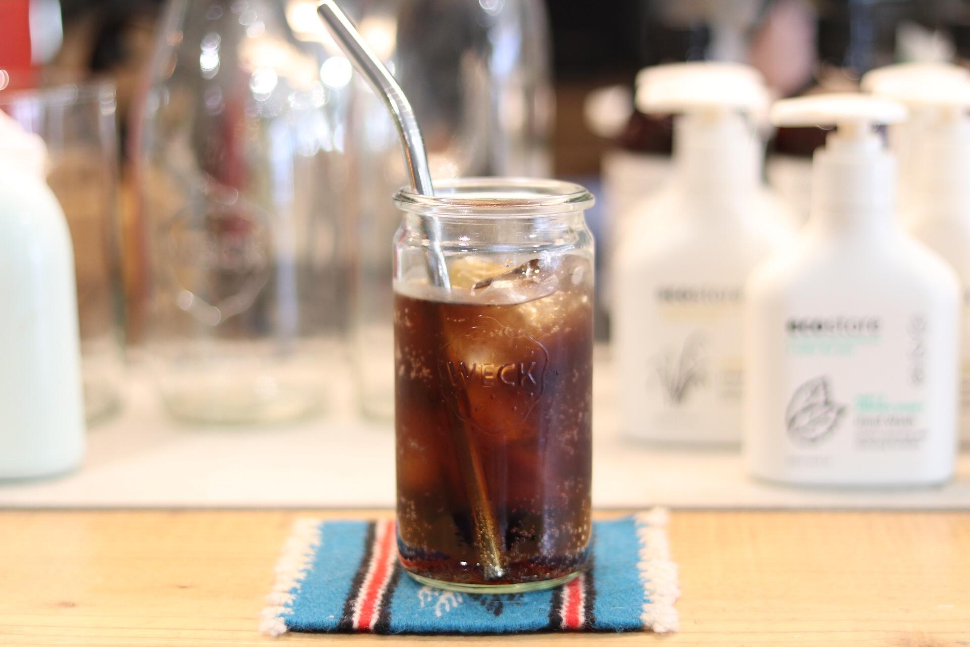 藤沢ベニスビーチ ドリンク コーヒー コーラ