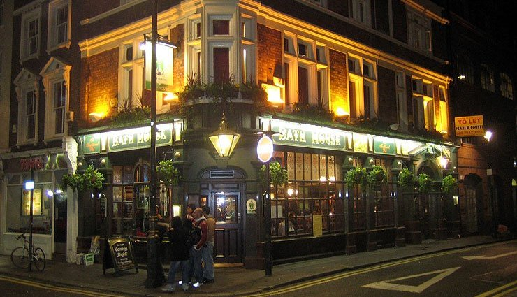 The Bath House Soho London Pub Review - The Bath House, Soho, London - Pub Review
