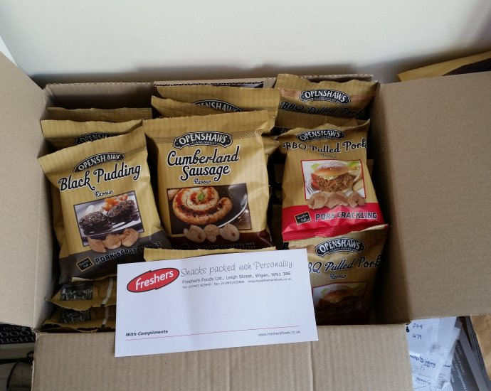 wpid 20150501 1245441 1 - Openshaws scratchings delivery