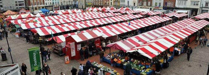 market 1 - Guest Review - Pork Scratchings from Northampton Market Butcher's Van