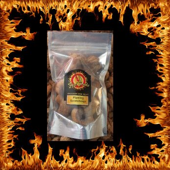 new flaming scratchings 1 - Cajun Bum bandit chilli pork scratchings