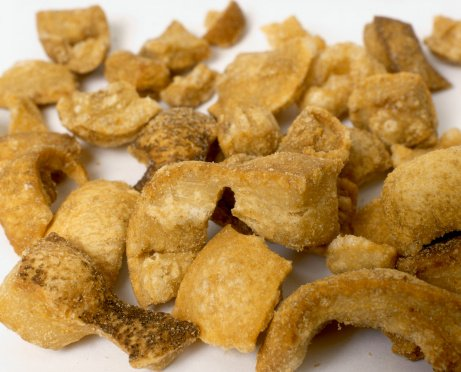 pork scratchings 1 - Scientists create healthy low-fat version of classic pork scratchings