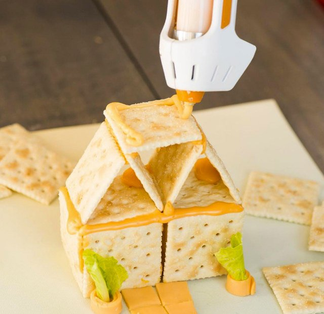 A Hot Glue Gun For Cheese 4 1 - Cheese is a snack, right? A Hot Glue Gun For Cheese