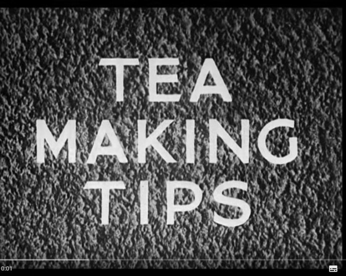 tea making tips 1941 1 - Tea Making Tips 1941
