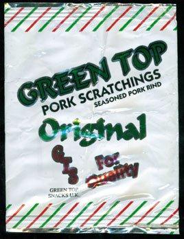 Green Top Snacks Original Pork Scratchings Review - Green Top Snacks, Original Pork Scratchings Review
