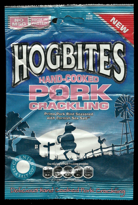 Hogbites Hand Cooked Pork Crackling Review - Hogbites, Hand Cooked Pork Crackling Review
