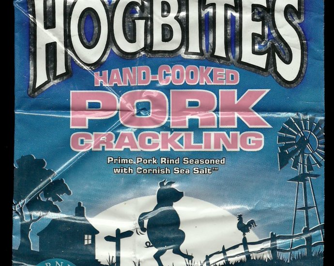 Hogbites Hand Cooked Pork Crackling Review - Hogbites, Hand Cooked Pork Crackling Review