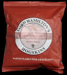 Lord Hamiltons Hogskins Warm Chilli Particularly Fine Crackling Review - Pork Scratching Bags