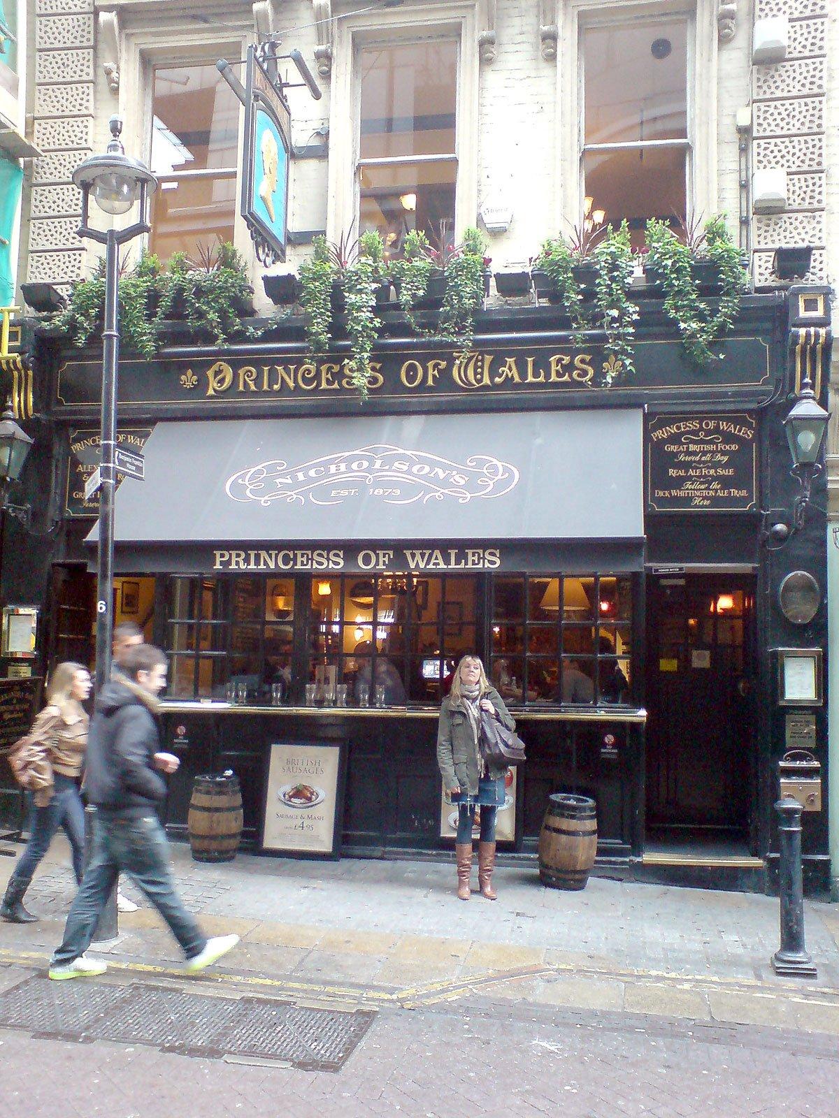 Princess of Wales Charing Cross London Pub Review - Princess of Wales, Charing Cross, London - Pub Review