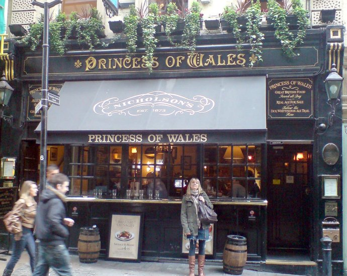 Princess of Wales Charing Cross London Pub Review - Princess of Wales, Charing Cross, London - Pub Review